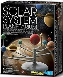JUEGO 4M KIDZ LABS SOLAR SYSTEM PLANETARIUM