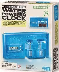 JUEGO 4M WATER POWERED CLOCK