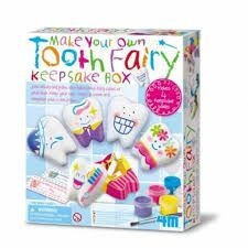 JUEGO 4M MAKE YOUR OWN TOOTH FAIRY KEEPSAKE BOX