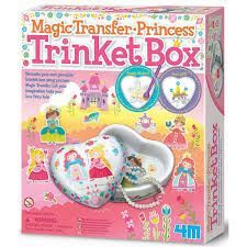 JUEGO 4M MAGIC TRANSFER PRINCESS TRINKET BOX