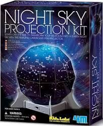 JUEGO 4M KIDZ LABS NIGHT SKY PROJECTION KIT