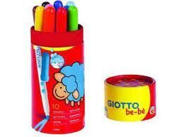 BOTE 10 SUPER ROTULADORES GIOTTO BE-BE