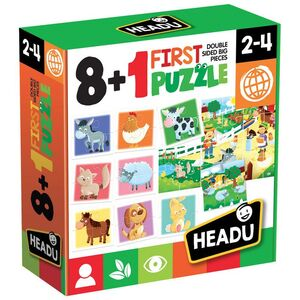 JUEGO HEADU FIRST PUZZLE 8+1