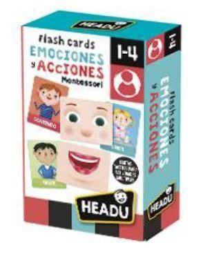 JUEGO HEADU EMOCIONES Y ACCIONES FLASH CARDS