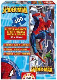 PUZZLE EDUCA 400 PIEZAS GIGANTE THE SPECTACULAR SPIDER-MAN