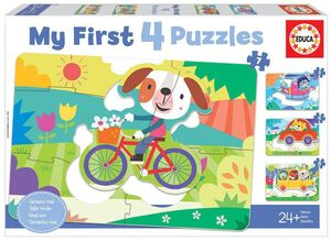 PUZZLE EDUCA PROGRESIVO VEHICULOS MY FIRST PUZZLES