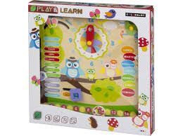 JUEGO MADERA BUHOS PLAY AND LEARN
