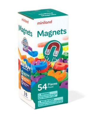 JUEGO MINILAND NUMEROS MAGNETICOS 54 PIEZAS