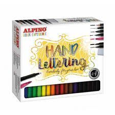 SET ROTULADORES ALPINO COLOR EXPERIENCE LETTERING