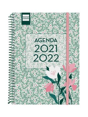 AGENDA ESCOLAR 2021-2022 FINOCAM SECUNDARIA FLORAL 4º SEMANA VISTA