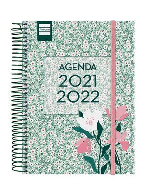 AGENDA ESCOLAR 2021-2022 FINOCAM SECUNDARIA FLORAL 4º DIA PAGINA