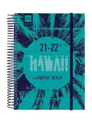 AGENDA ESCOLAR 2021-2022 FINOCAM SECUNDARIA HAWAI 4º DIA PAGINA