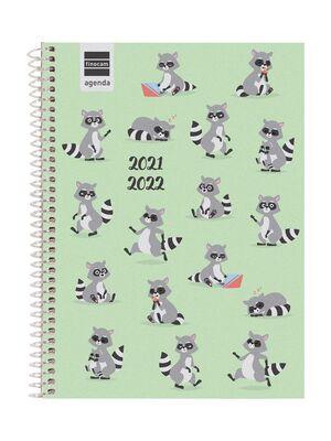 AGENDA ESCOLAR 2021-2022 FINOCAM BASICA ANIMALS 4º SEMANA VISTA