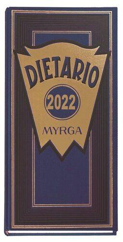 DIETARIO MYRGA 2022 DOS TERCIOS PAGINA AZUL