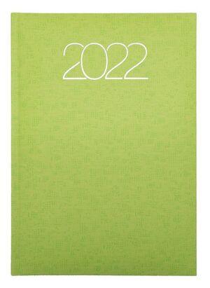 AGENDA ANUAL 2022 D07 15X21 DP 58 PREMIUM 752 VERDE