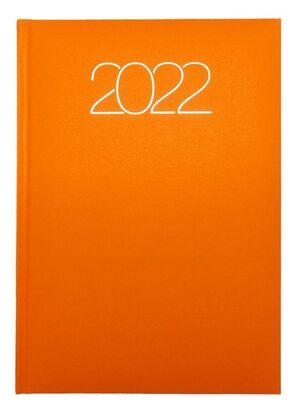 AGENDA ANUAL 2022 D07 15X21 DP 58 PREMIUM 834 NARANJA