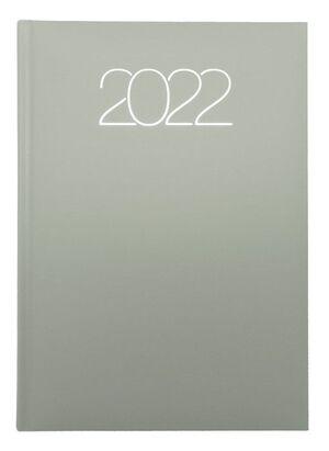 AGENDA ANUAL 2022 D07 15X21 DP 58 PREMIUM J20 GRIS