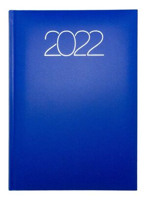 AGENDA ANUAL 2022 D07 15X21 DP 58 PREMIUM 900 AZUL