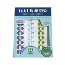 CALCULO NUMERICO NUMEROS 0-29 NIVEL 3B EDAD + 5 LITTLE WINDOWS