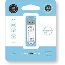 PENDRIVE 32GB USB 2.0 SMART TECH BLANCO