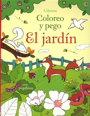 EL JARDIN COLOREO Y PEGO
