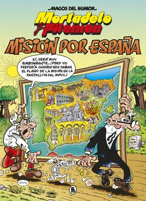 MORTADELO Y FILEMON MISIÓN POR ESPAÑA