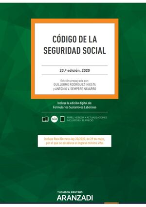 CÓDIGO DE LA SEGURIDAD SOCIAL 23ª ED. 2020