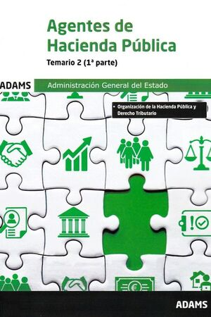 AGENTES DE HACIENDA PUBLICA TEMARIO 2 1ª Y 2ª PARTE