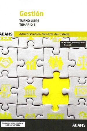 GESTION TURNO LIBRE TEMARIO 3 2021