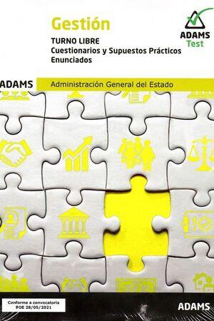 GESTION TURNO LIBRE CUESTIONARIOS Y SUPUESTOS PRACTICOS ENUNCIADOS
