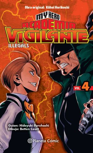 MY HERO ACADEMIA VIGILANTE ILLEGALS 4