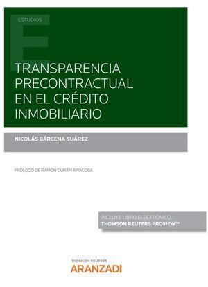 TRANSPARENCIA PRECONTRACTUAL EN EL CRÉDITO INMOBILIARIO