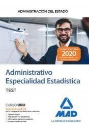 ADMINISTRATIVO ESPECIALIDAD ESTADISTICA TEST