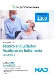 MANUAL DEL TECNICO EN CUIDADOS AUXILIARES DE ENFERMERIA VOLUMEN 2