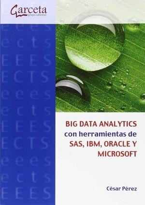 BIG DATA ANALYTICS CON HERRAMIENTAS DE SAS, IBM, ORACLE Y MICROSOFT