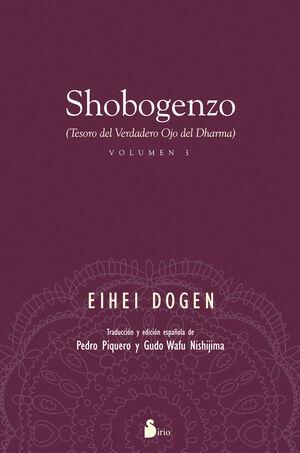 SHOBOGENZO VOLUMEN 3