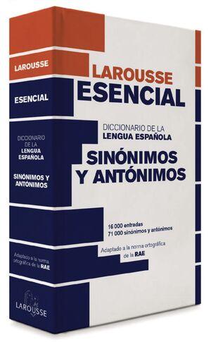 DICCIONARIO ESENCIAL DE LA LENGUA ESPAÑOLA SINONIMOS Y ANTONIMOS
