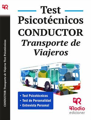 CONDUCTOR. TRANSPORTE DE VIAJEROS. TEST PSICOTÉCNICOS.