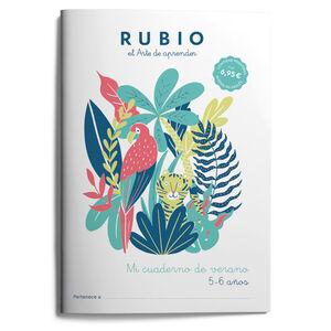RUBIO MI CUADERNO DE VERANO 5-6 AÑOS