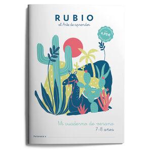 RUBIO MI CUADERNO DE VERANO 7-8 AÑOS