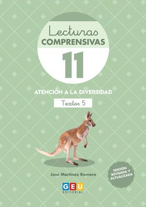 LECTURAS COMPRENSIVAS 11 3ªED