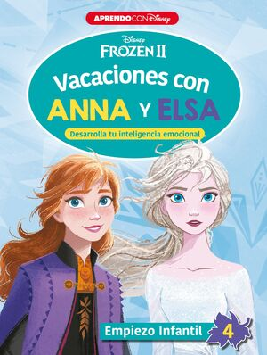 VACACIONES CON ANNA Y ELSA EMPIEZO INFANTIL 4