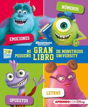 MI PEQUEÑO GRAN LIBRO DE MONSTRUOS UNIVERSITY