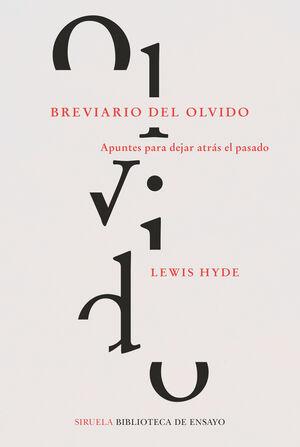 BREVIARIO DEL OLVIDO