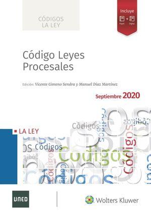 CÓDIGO DE LEYES PROCESALES 2020