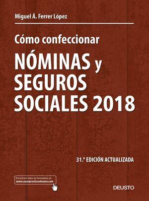 CÓMO CONFECCIONAR NÓMINAS Y SEGUROS SOCIALES 2018
