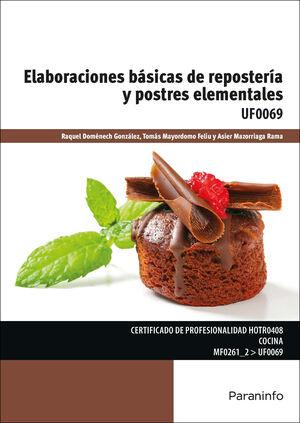 ELABORACIONES BÁSICAS DE REPOSTERÍA Y POSTRES ELEMENTALES
