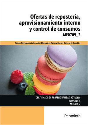 OFERTAS DE REPOSTERÍA, APROVISIONAMIENTO INTERNO Y CONTROL DE CONSUMOS
