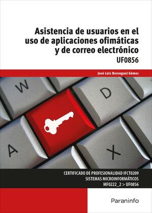 ASISTENCIA DE USUARIOS EN EL USO DE APLICACIONES OFIMÁTICAS Y DE CORREO ELECTRÓN