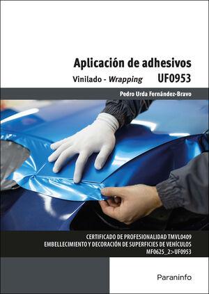 APLICACIÓN DE ADHESIVOS UF0953